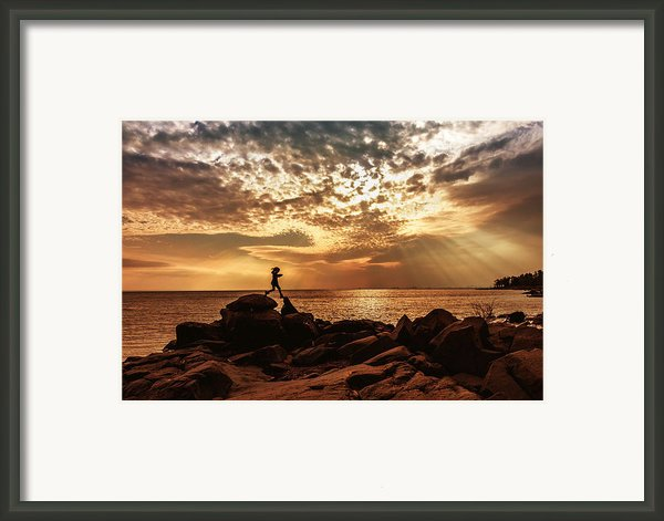 Shine On Me Framed Print By Mary Amerman
