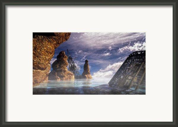 Shipwreck Framed Print By Bob Orsillo