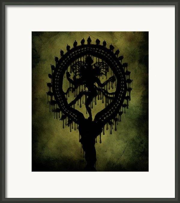 Shiva Framed Print By Cinema Photography