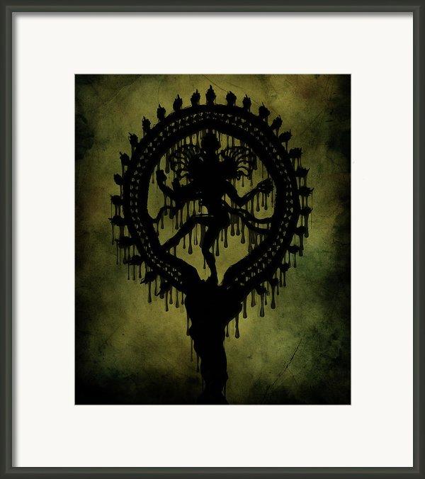 Shiva Framed Print By Cinema Photography