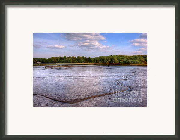 Shore Line Framed Print By Svetlana Sewell