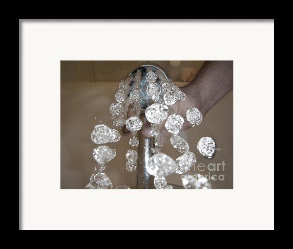 Shower Head Framed Print By Mats Silvan