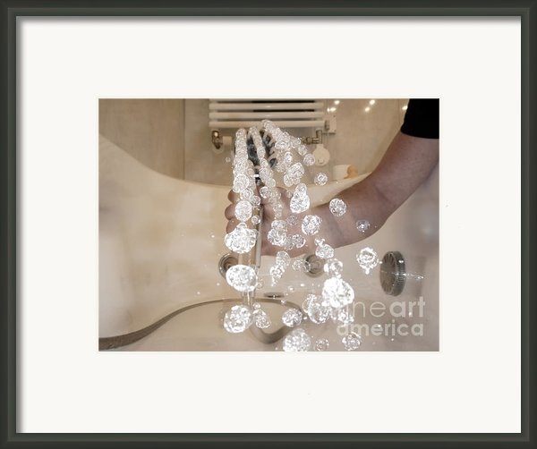 Shower Framed Print By Mats Silvan