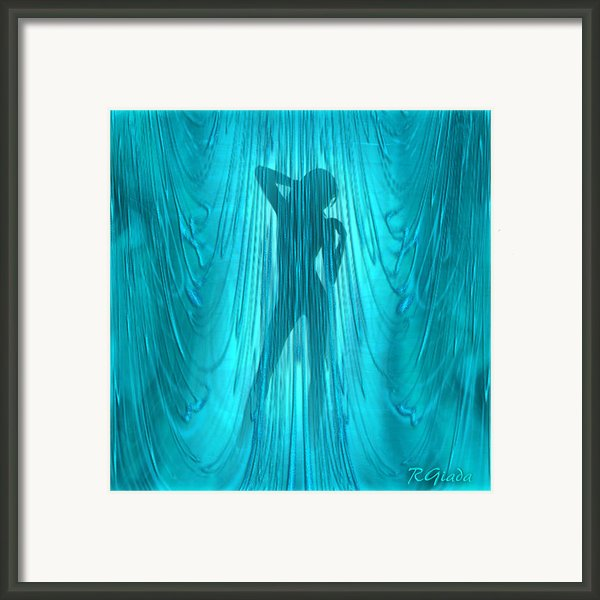 Showertime Framed Print By Giada Rossi