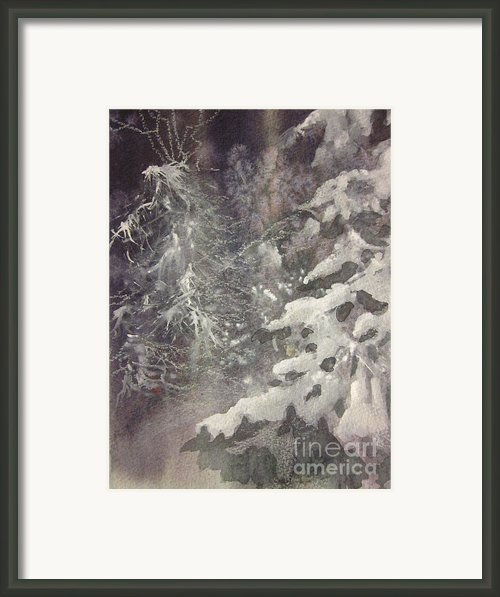 Silent Night Framed Print By Elizabeth Carr