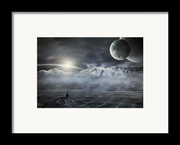 Silent Rise Framed Print By Svetlana Sewell