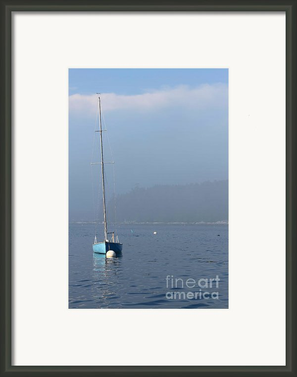 Sill Boat In Maine Framed Print By Heidi Piccerelli