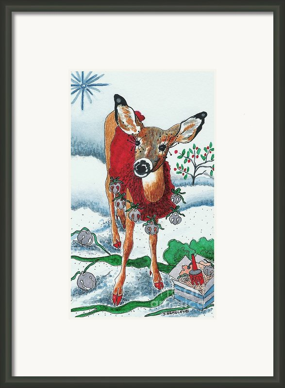 Silver Bells Framed Print By Joy Bradley                   Dinardo Designs