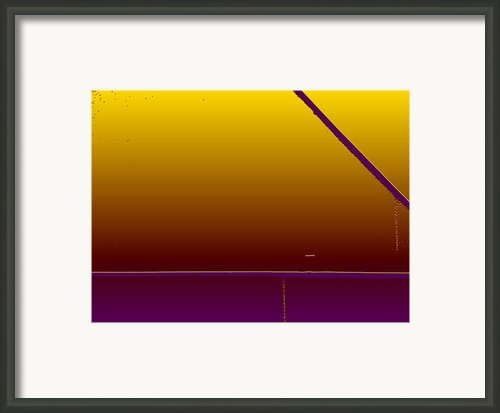 Simple Geometry - 4 Framed Print By Lenore Senior