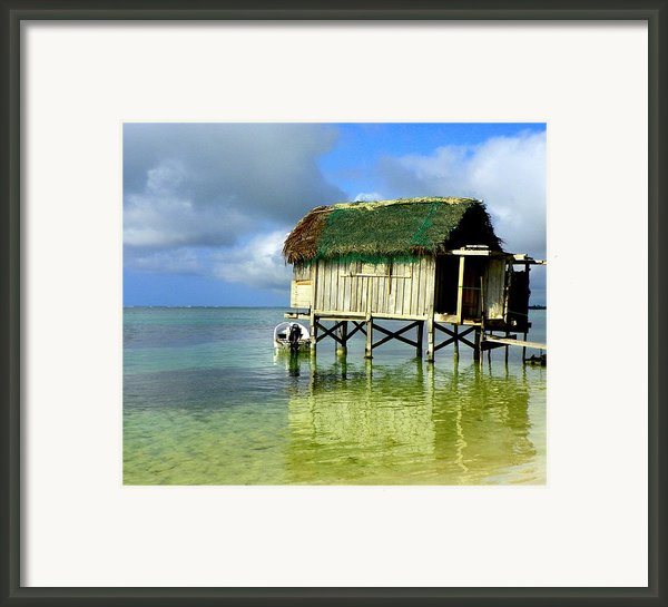 Simple Solitude Framed Print By Karen Wiles