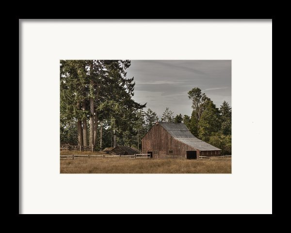Simpler Times 2 Framed Print By Randy Hall