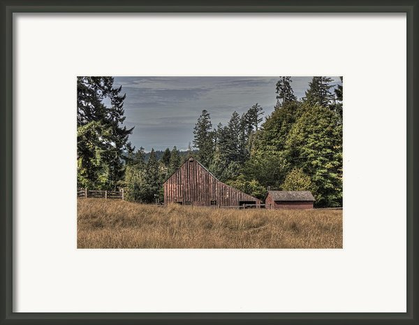 Simpler Times Framed Print By Randy Hall