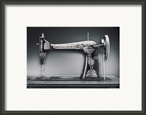 Singer Machine Framed Print By Kelley King