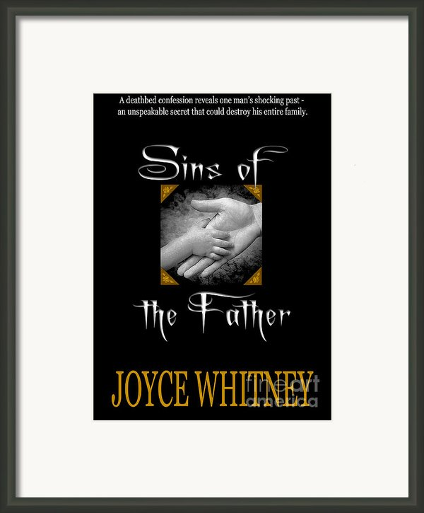 Sins Of The Father Book Cover Framed Print By Mike Nellums