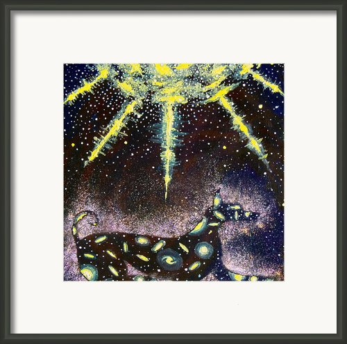 Sirius Listening Framed Print By Dennis Goodbee