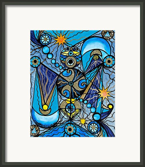 Sirius Framed Print By Teal Eye  Print Store