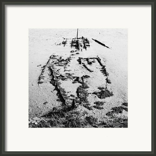 Skeleton Boat Framed Print By Svetlana Sewell