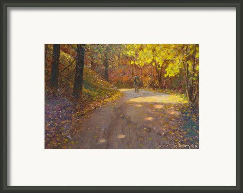 Skippers Autumn Framed Print By Terry Perham
