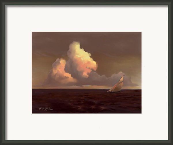 Skirting The Cell Framed Print By Mike Savlen
