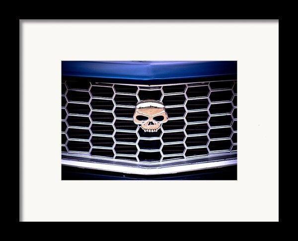 Skull Grill Framed Print By Phil