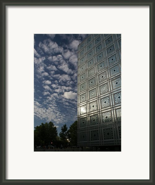 Sky And Building Framed Print By Gary Eason