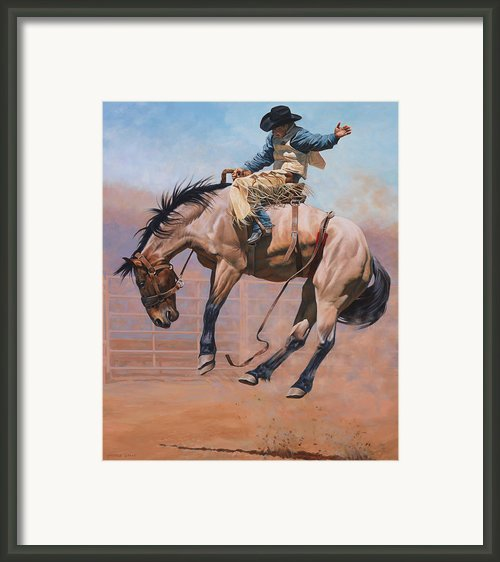 Sky High Framed Print By Jq Licensing