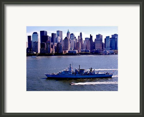 Skyline Steaming Framed Print By Benjamin Yeager
