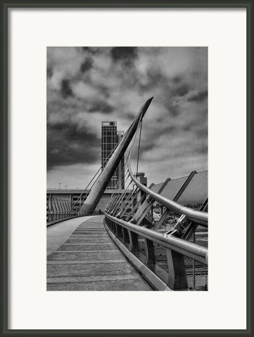 Skywalk Framed Print By Hugh Smith
