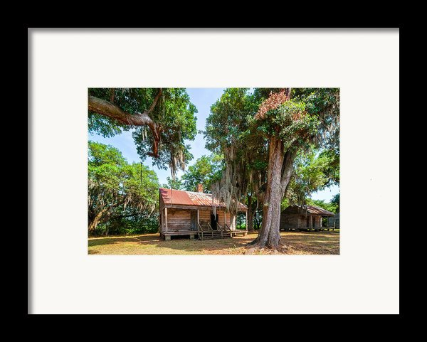 Slave Quarters 2 Framed Print By Steve Harrington