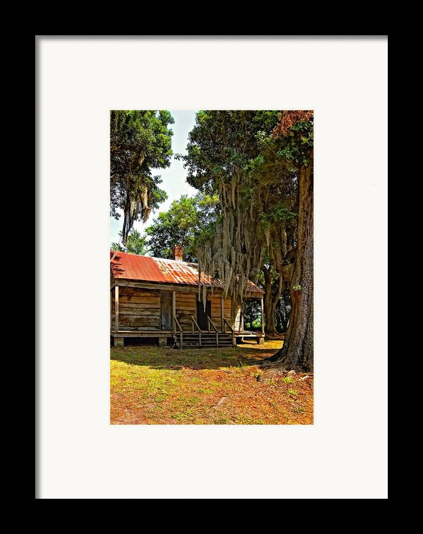 Slave Quarters Framed Print By Steve Harrington