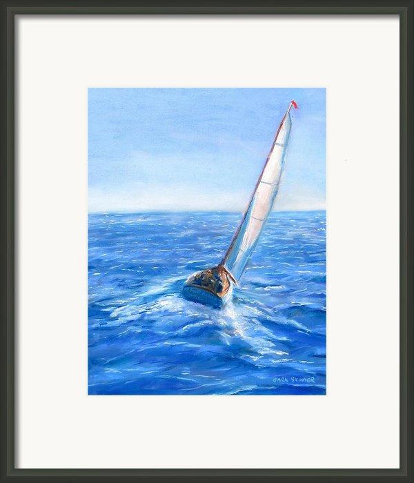 Slip Away Framed Print By Jack Skinner
