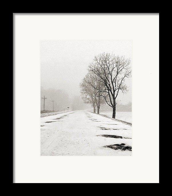 Slow Going Ii Framed Print By Julie Dant