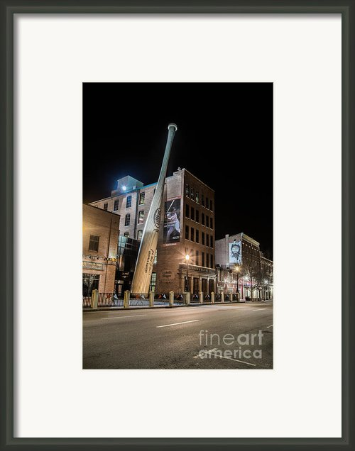 Slugger Museum Framed Print By James Guest