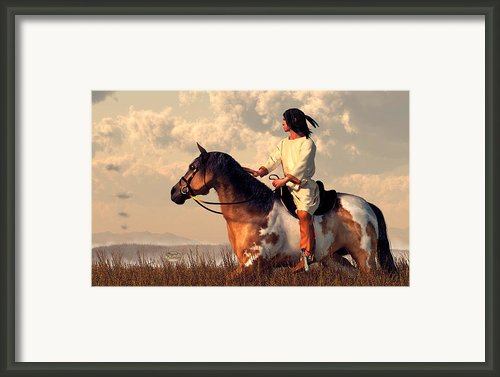 Smoke Signals Framed Print By Daniel Eskridge