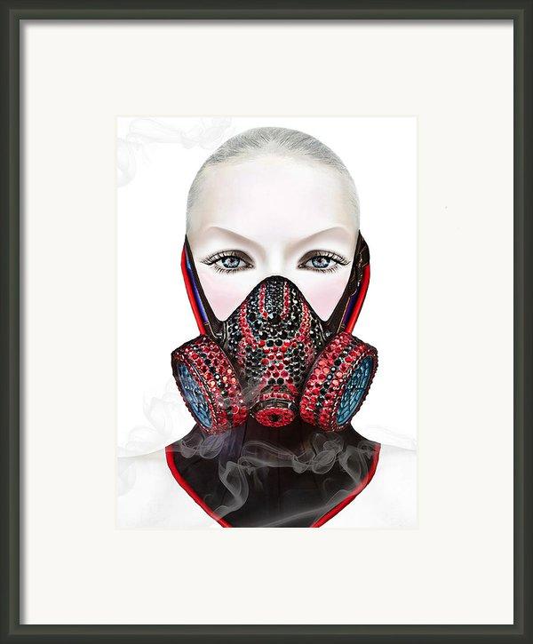 Smoke Framed Print By Yosi Cupano