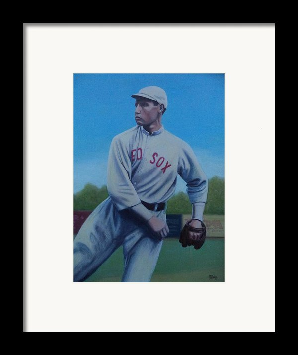 Smokey Joe Wood Framed Print By Mark Haley