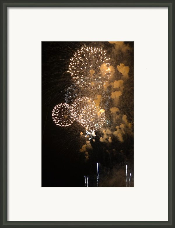Smoky Framed Print By Gina Laforest