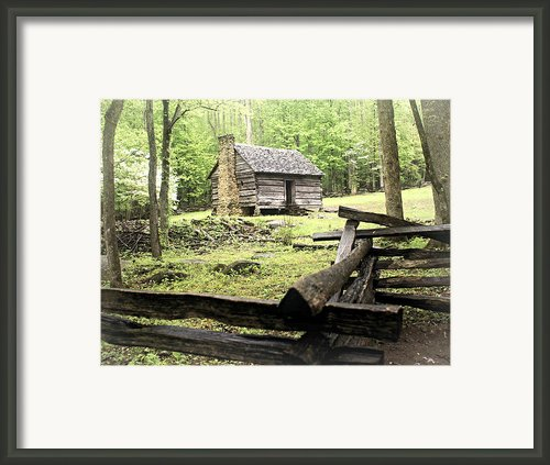 Smoky Homestead Framed Print By Marty Koch