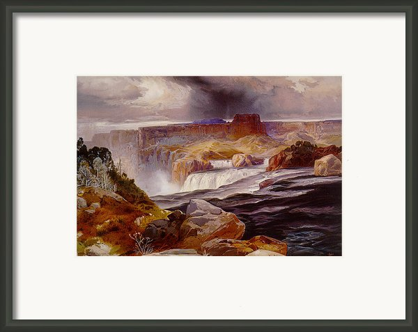 Snake River Idaho 1876 Framed Print By Unknown