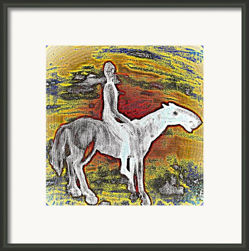 So Far Away Framed Print By Hilde Widerberg
