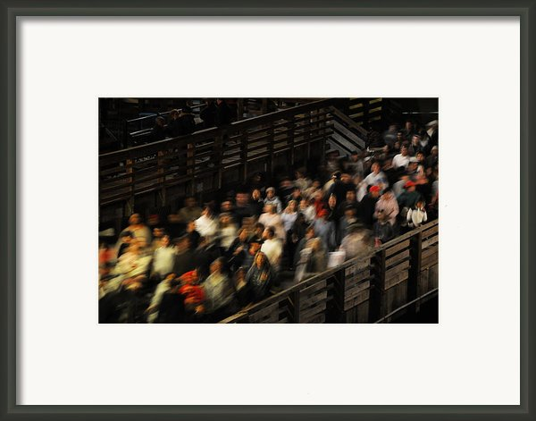 Social Currents Framed Print By Scott Lenhart