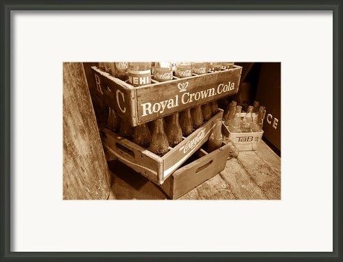 Soda In The Corner Framed Print By David Lee Thompson