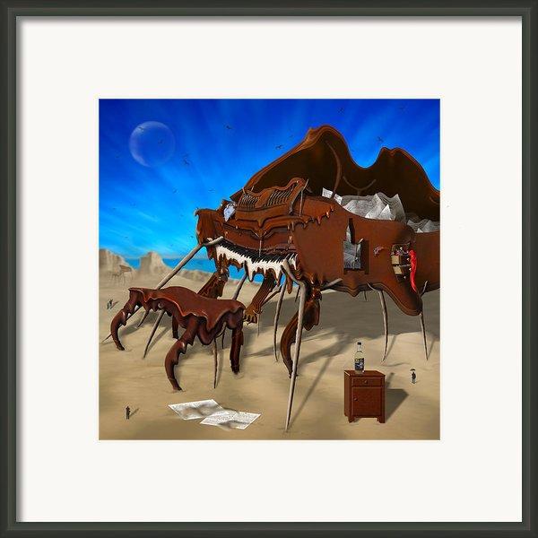 Soft Grand Piano Se 2 Framed Print By Mike Mcglothlen