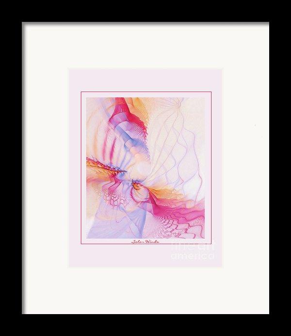 Solar Winds Framed Print By Gayle Odsather