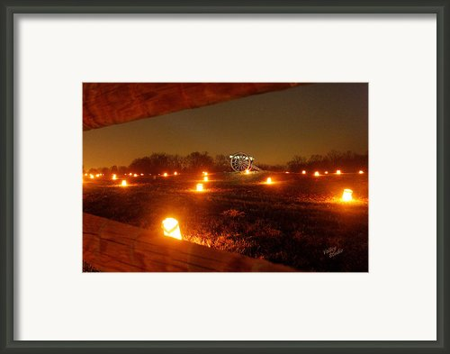 Solitary Cannon 12 Framed Print By Judi Quelland
