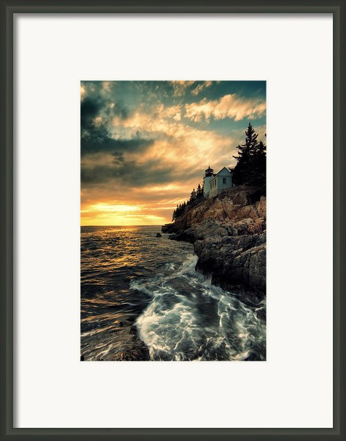Solitude Framed Print By Chad Tracy