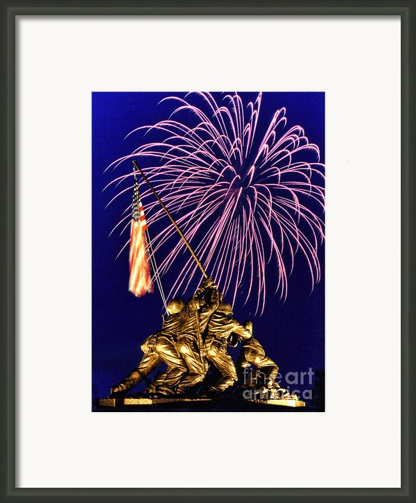 Some Gave All Framed Print By Scott Hansen