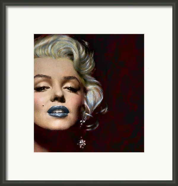 Some Like It Hot Framed Print By Marie  Gale