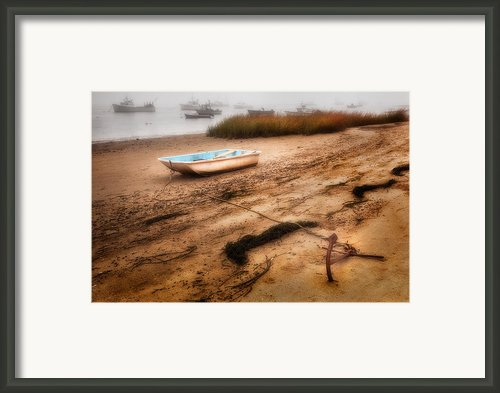 Someday My Ship Will Come In Framed Print By Bill  Wakeley