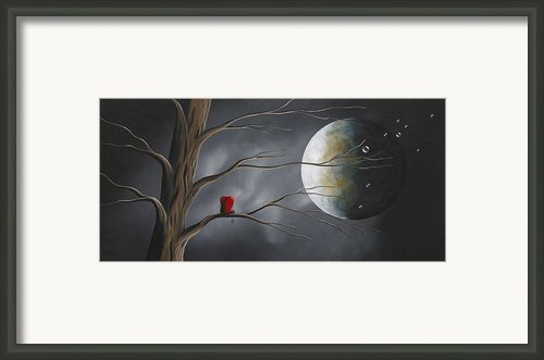 Sometimes He Just Wants To Be Alone By Shawna Erback Framed Print By Shawna Erback